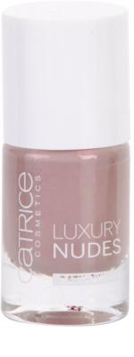 Catrice Luxury Nudes Satin Shine високоякісний лак для нігтів 1