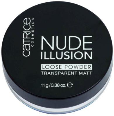 Catrice Nude Illusion pó transparente matificante