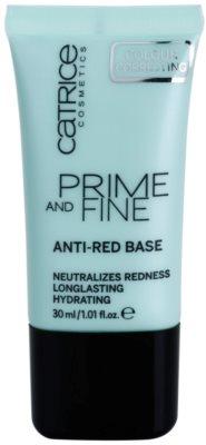 Catrice Prime And Fine baza impotriva inrosirii