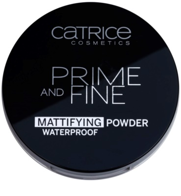 Catrice Prime And Fine pudr pro matný vzhled 1