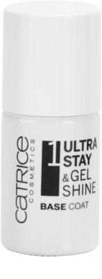 Catrice Ultra Stay & Gel Shine alapozó körömlakk a maximális tapadásért