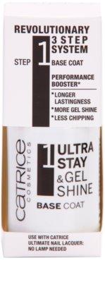 Catrice Ultra Stay & Gel Shine prebase para una mejor adhesión del esmalte de uñas 1
