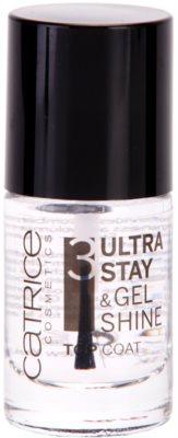 Catrice Ultra Stay & Gel Shine esmalte de uñas capa acabado para una protección perfecta y brillo intenso