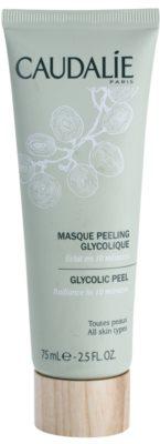 Caudalie Masks&Scrubs peeling maszk az élénk bőrért