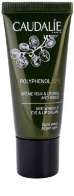 Caudalie Polyphenol C15 creme para contorno de olhos e lábios antirrugas e anti-olheiras