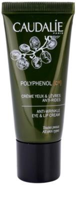 Caudalie Polyphenol C15 krém na oční okolí a rty proti vráskám a tmavým kruhům