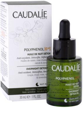 Caudalie Polyphenol C15 detoxikační noční olej proti vráskám 1