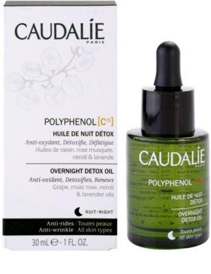 Caudalie Polyphenol C15 méregtelenítő éjszakai olaj a ráncok ellen 2
