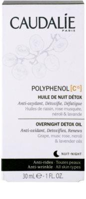 Caudalie Polyphenol C15 detoxikační noční olej proti vráskám 3