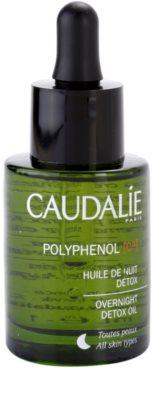 Caudalie Polyphenol C15 méregtelenítő éjszakai olaj a ráncok ellen