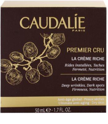 Caudalie Premier Cru стягащ и подхранващ крем за дълбоки бръчки 4