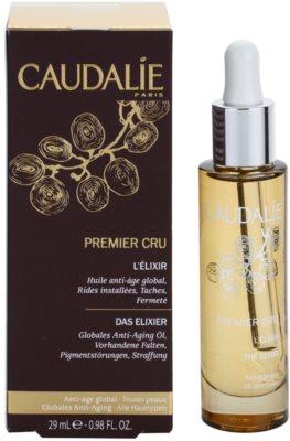 Caudalie Premier Cru luxus száraz olaj az öregedés jelei ellen 1