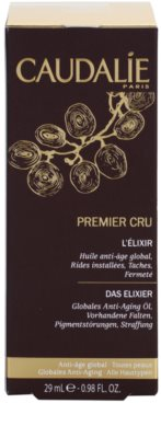 Caudalie Premier Cru luxus száraz olaj az öregedés jelei ellen 2