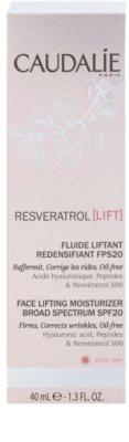 Caudalie Resveratrol Lift lifting hidratante fluido SPF 20 2