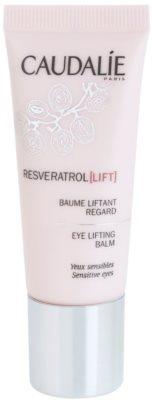 Caudalie Resveratrol Lift ujędrniający balsam do okolic oczu przeciw zmarszczkom, opuchnięciom i cieniom pod oczami