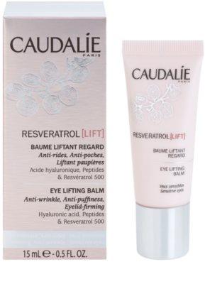 Caudalie Resveratrol Lift zpevňující oční balzám proti vráskám, otokům a tmavým kruhům 1