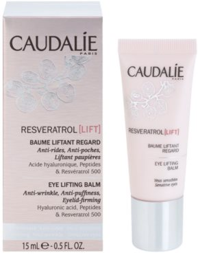 Caudalie Resveratrol Lift bálsamo reafirmante de olhos antirrugas, anti-olheiras, anti-inchaços 1