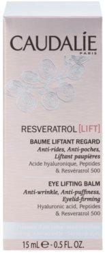 Caudalie Resveratrol Lift bálsamo reafirmante de olhos antirrugas, anti-olheiras, anti-inchaços 2