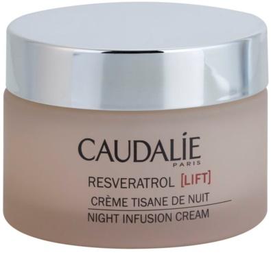 Caudalie Resveratrol Lift crema regeneratoare de noapte cu efect de netezire