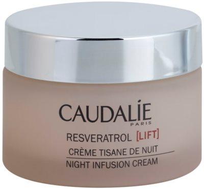 Caudalie Resveratrol Lift regenerierende Nachtcreme mit glättender Wirkung