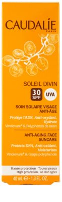 Caudalie Soleil Divin protivráskový krém na opalování SPF 30 3