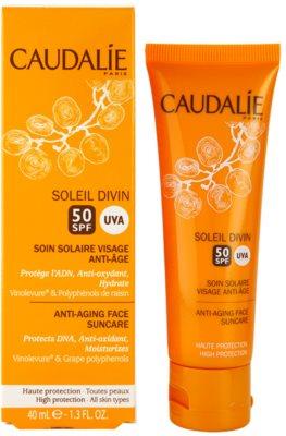 Caudalie Soleil Divin crema solar antiarrugas SPF 50 2