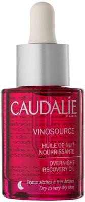 Caudalie Vinosource sérum regenerador de noite para pele seca a muito seca
