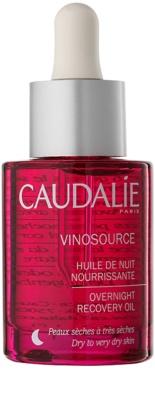 Caudalie Vinosource нічна відновлююча сироватка для сухої та дуже сухої шкіри