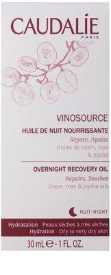 Caudalie Vinosource sérum regenerador de noite para pele seca a muito seca 2