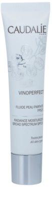 Caudalie Vinoperfect élénkítő hidratáló folyadék egységesíti a bőrszín tónusait