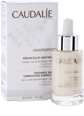 Caudalie Vinoperfect serum za osvetljevanje proti pigmentnim madežem 1