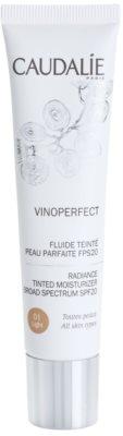 Caudalie Vinoperfect világosító tonizáló fluid hidratáló hatással