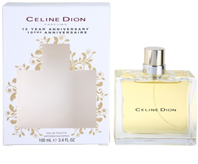 Celine Dion 10 Years Anniversary eau de toilette nőknek