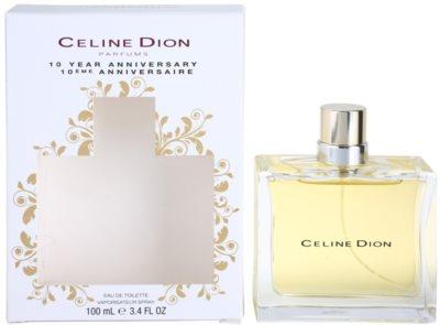 Celine Dion 10 Years Anniversary Eau de Toilette para mulheres