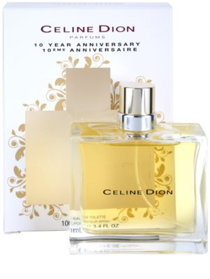 Celine Dion 10 Years Anniversary Eau de Toilette pentru femei 6