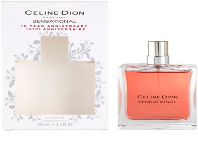 Celine Dion Sensational 10 anniversary туалетна вода для жінок