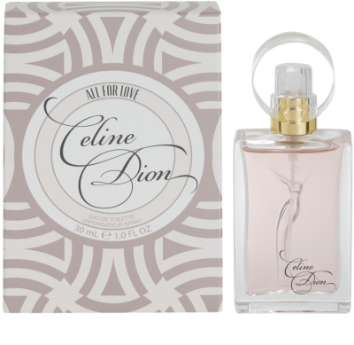 Celine Dion All for Love eau de toilette para mujer