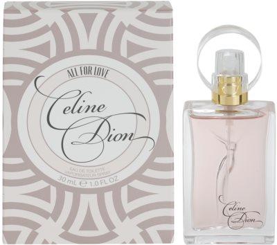 Celine Dion All for Love Eau de Toilette para mulheres