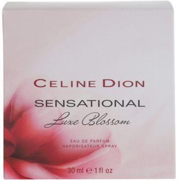 Celine Dion Sensational Luxe Blossom eau de parfum nőknek 4