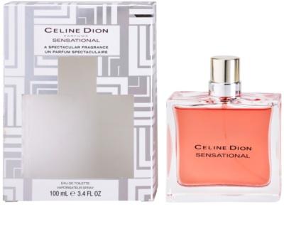 Celine Dion Sensational Limited Edition eau de toilette nőknek