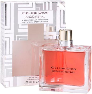 Celine Dion Sensational Limited Edition Eau de Toilette pentru femei 1