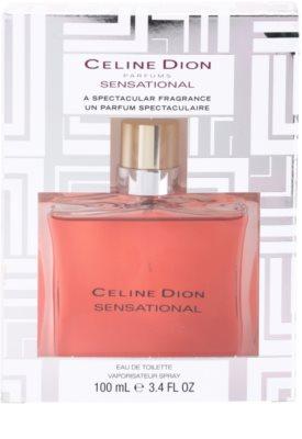 Celine Dion Sensational Limited Edition Eau de Toilette pentru femei 4