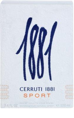 Cerruti Cerruti 1881 Sport eau de toilette para hombre 1