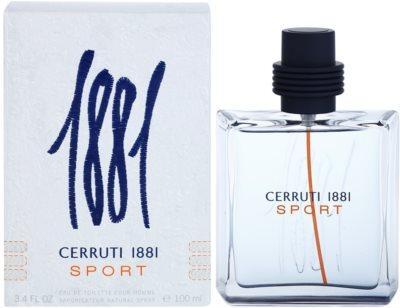 Cerruti Cerruti 1881 Sport Eau de Toilette para homens