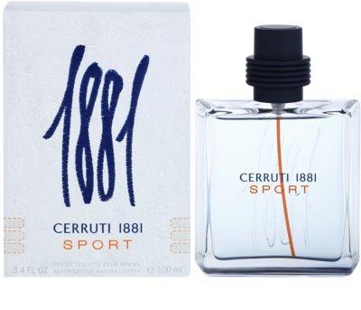 Cerruti Cerruti 1881 Sport toaletní voda pro muže