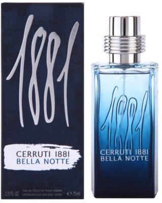 Cerruti 1881 Bella Notte Eau de Toilette para homens