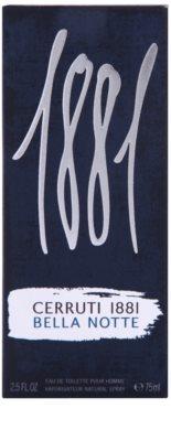 Cerruti 1881 Bella Notte eau de toilette férfiaknak 4