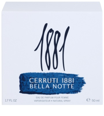 Cerruti 1881 Bella Notte Eau de Parfum für Damen 4