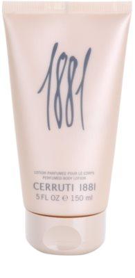 Cerruti 1881 pour Femme Körperlotion für Damen