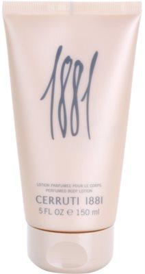 Cerruti 1881 pour Femme tělové mléko pro ženy